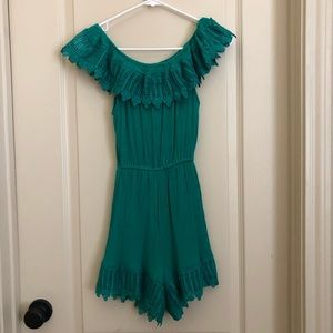 Francesca's Off the Shoulder Romper (Xs)